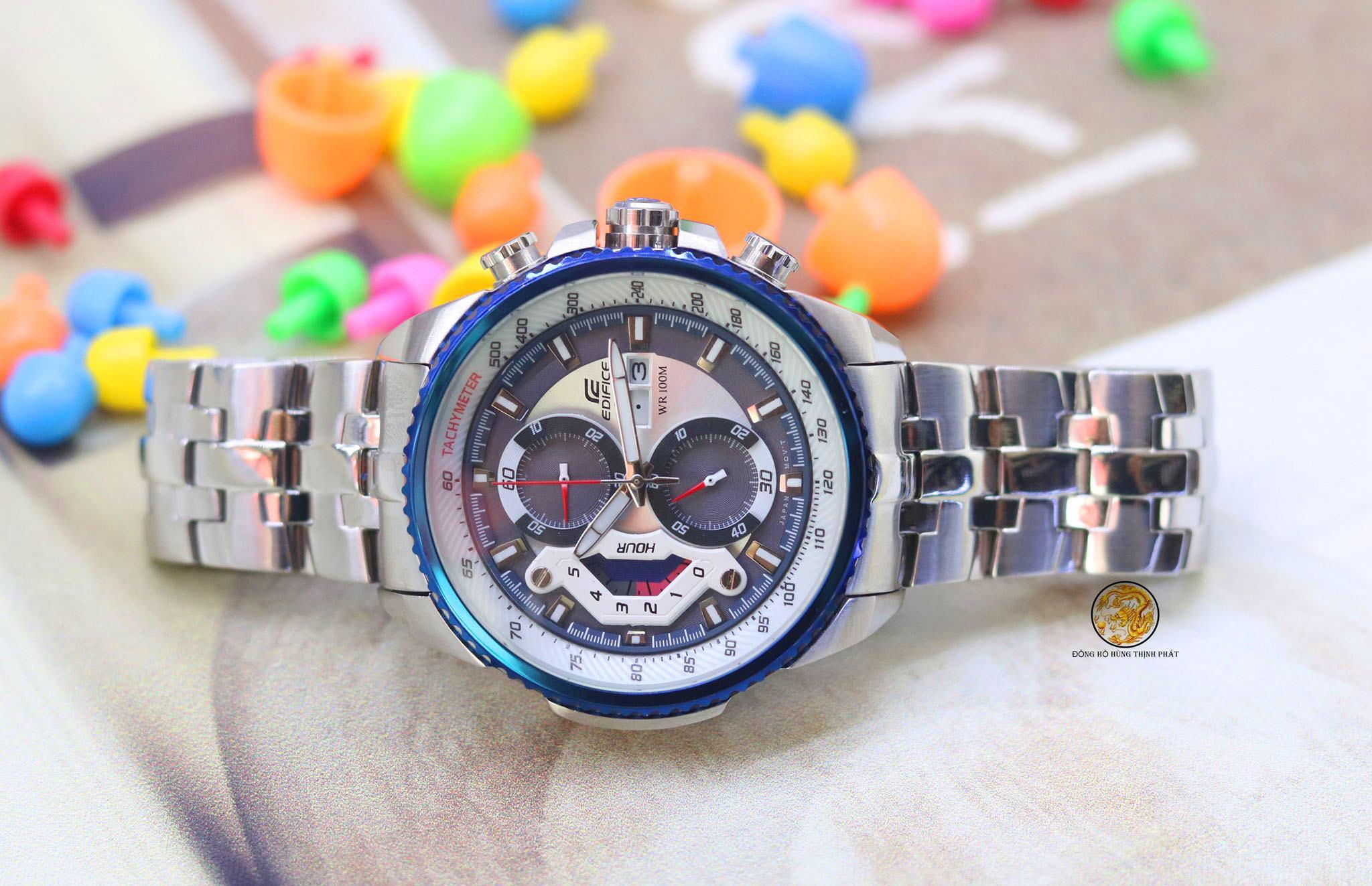 Đồng hồ Casio Nam EF-558CRMS-TX