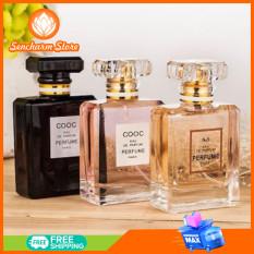 Nước hoa nữ Cooc Perfume Paris – SENCHARM – Chai 50ml hương thơm quyến rũ, tinh tế – Lưu hương lâu dài