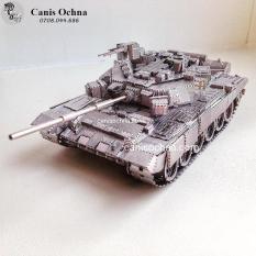 Piececool _ Mô hình lắp ráp 3D kim loại _ Tăng T-90 _ T-90A Tank