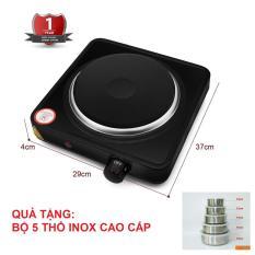 Bếp Điện Đơn Perfect PF-HP789 1000W Tặng Bộ 5 Thố Inox Có Nắp Cao Cấp