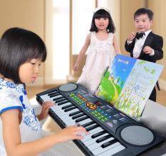Đàn Organ – Đàn Piano Điện Tử 37 Phím Đa Tính Năng Kèm Míc Hát Cho Bé, làm từ chất liệu cao cấp cùng thiết kế an toàn cho bé thỏa sức vui chơi.