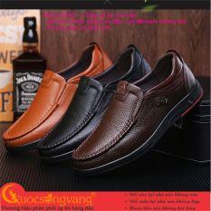 Giày nam công sở giày nam da bò big size Trustmen GLG052