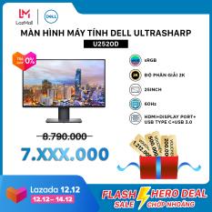 [VC500K+FREESHIP+TRẢ GÓP 0%]Màn Hình Máy Tính Dell UltraSharp U2520D sRGB 25inch 2K IPS 60Hz 5ms HDMI+Display Port+USB Type C+USB 3.0