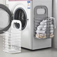 giỏ cạnh treo máy giặt- giỏ treo nhà tắm đựng quần áo bẩn