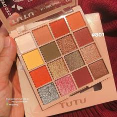 TUTU – Bảng mắt 16 màu KAQI COLOR hàng nội địa Trung