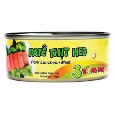 Combo 4 hộp Pate Thịt Heo 3 Bông Mai Vissan (150g)