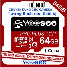 Thẻ nhớ YooSee – 64GB tốc độ cao C10