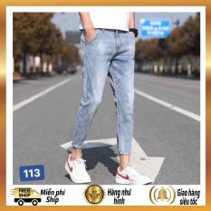 Quần jean nam chất bò cao cấp,cá tính trẻ trung,thích hợp đi chơi đi dạo,TM 113