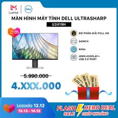 [VC500K+FREESHIP+TRẢ GÓP 0%] Màn Hình Máy Tính Dell Ultrasharp U2419H 24inch FullHD IPS 60Hz 8ms HDMI+Display+USB 3.0 Port