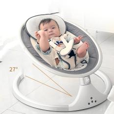 Video nôi điện tự xoay tự rung cho bé, có Điều Khiển Từ xa, Kết nối Bluetooth phát NHẠC, nôi rung điện trẻ em, nôi em bé, nôi cho bé, đồ sơ sinh, nôi điện con cưng,