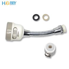 Bộ vòi xịt tăng áp lực rửa chén HOBBY VSTADAY có dây nối dài và khớp nối xoay – 3 chế độ phun cực mạnh