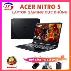 [NEW OUTLET FULL BOX] Laptop Gaming Cao Cấp Acer Nitro 5, i5-10300H, RAM 8G, SSD NVMe 256G, VGA Nvidia GTX 1650-4G, Laptop Chơi Game, Laptop Dell