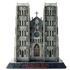 Bộ Lắp Ráp Mô Hình Giấy 3D Nhà Thờ Lớn Hà Nội – MHNTL1