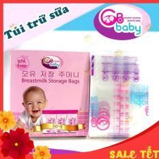 Túi trữ sữa-túi đựng sữa GBABY Hàn Quốc -An toàn cho bé