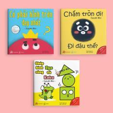 Full bộ Điều Kỳ Diệu Của Hình Khối – Sách Ehon cho trẻ mầm non