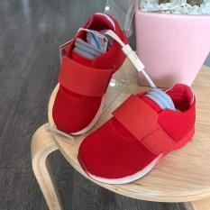 Gm store- Giày sneaker 1 đai to màu đỏ, xanh cho bé