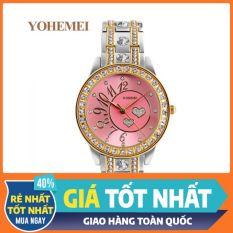 Đồng hồ nữ YOHEMEI và vòng tay nữ🍀MỚI LẠ ĐỘC ĐÁO🍀 chính hãng phong cách Hàn Quốc trẻ trung năng động