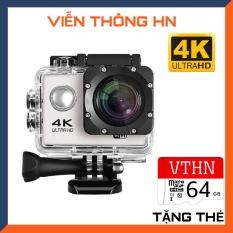 [ TẶNG THẺ NHỚ 64GB ] Camera hành trình chống nước chống rung 4k 16M ultra hd dv, kết nối wifi ( goplus cam), góc quay 170 độ – camera hành trình xe máy wifi