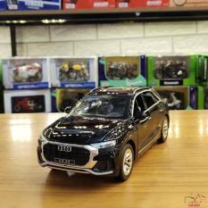 Mô hình hợp kim xe ô tô Audi Q8 tỉ lệ 1:24 màu đen