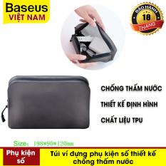 Túi đựng điện thoại và phụ kiện đa năng chống nước Baseus cho iPhone XS Max XR X 8 7 Samsung galaxy S10 S9