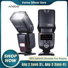 Đèn Flash Phổ Thông Andoer AD-560 II Trên Máy Ảnh GN50 W, Bổ Sung Điều Chỉnh Được Cho Máy Ảnh DSLR Canon Nikon Olympus Pentax – INTL