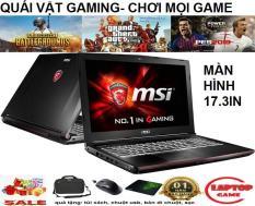 KHỦNG GAME MÀN TO 17IN MSI GE72 2QC CORE i7-5700HQ/ 8G/ SSD 128+ 500G/ VGA GTX 960M/ màn 17.3″ inch FullHD 1920*1080 , dòng laptop gaming khủng màn to