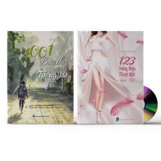 Combo 2 sách: 1001 Bức thư viết cho Tương lai (Có audio) + 123 Thông Điệp Thay Đổi Tuổi Trẻ (Trung giản thể – Pinyin – Việt – Trung phồn thể) + DVD quà tặng – 1001123TD