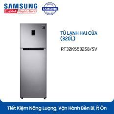 Tủ lạnh hai cửa Twin Cooling Plus Samsung RT32K5532S8/SV 320L (Đen)- Công nghệ Inverter – Hãng phân phối chính thức