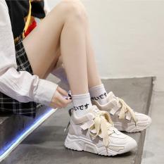 Giày Thể Thao Dây Bản Ngang To Mới Kiểu Dáng Thời Trang Mang Êm Nhẹ Chân Phù Hợp Với Mọi Lứa Tuổi