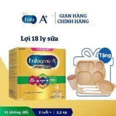 [Tặng Khay Ăn Dặm Lúa Mạch] Sữa bột enfagrow A+ số 4 hộp 22kg ( Giao màu mẫu nhiên )