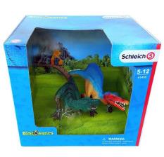 Khủng long Spinosaurus và T-rex SCHLEICH 41455