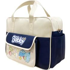 Túi sách bỉm sữa cho mẹ và bé- hàng khuyến mãi Bobby