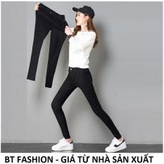 Quần Dài Nữ Kaki Thun Coton Co Dãn Mạnh BT Fashion (Q.Bố) JE01