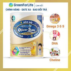 Sữa cho trẻ từ 6 đến 36 tháng Nefesure OJIZO – SAN PLATINUM 800gr giúp bé tăng cường hệ miễn dịch, phát triễn não bộ nhờ DHA, Choline, Omega 3 6 9 và nhiều dưỡng chất khác