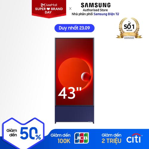 [Trả góp 0%]43LS05TAKXXV – Tivi Qled The SERO Samsung LS05TAKXXV 43inch 2020