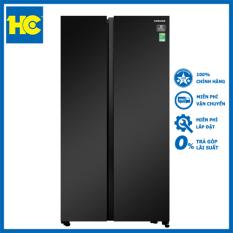Tủ lạnh Samsung Inverter 680 lít RS62R5001B4/SV ?en – Miễn phí vận chuyển & lắp đặt – Bảo hành chính hãng