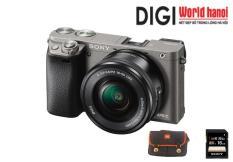 Máy ảnh Mirrorless Sony A6000 kit 16-50mm – Khuyến mại thẻ nhớ Sony 16GB , túi đeo máy Alpha