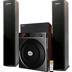 Dàn âm thanh 4.1 loa KOVIT KS 839 nghe nhạc cực phê, kết nối bluetooth, USB, nghe đài FM có điều khiển từ xa