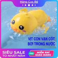 Đồ chơi vịt bơi – Đồ chơi bồn tắm cho bé – Vịt vặn cót bằng nhựa cao cấp an toàn – Shop Hàng Cực Rẻ