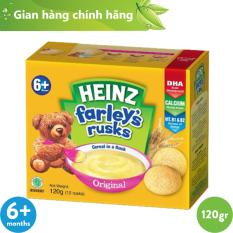 Bánh Quy Ăn Dặm HEINZ FARLEY'S TRUYỀN THỐNG 120g [ DATE: 8/07/21 ]