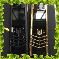 Điện thoạiI Vertu K8 lưng đá viền kim loại giá rẻ sang trọng cao cấp – [Fullbox] – Tặng bao da