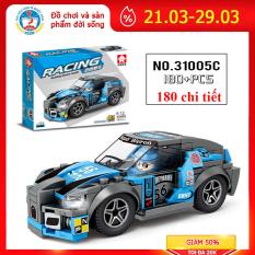 Bộ đồ chơi xếp hình Lego ô tô 31005C phát triển tư duy cho bé, cả nhà có thể cùng chơi và lắp ráp gồm 180 chi tiết