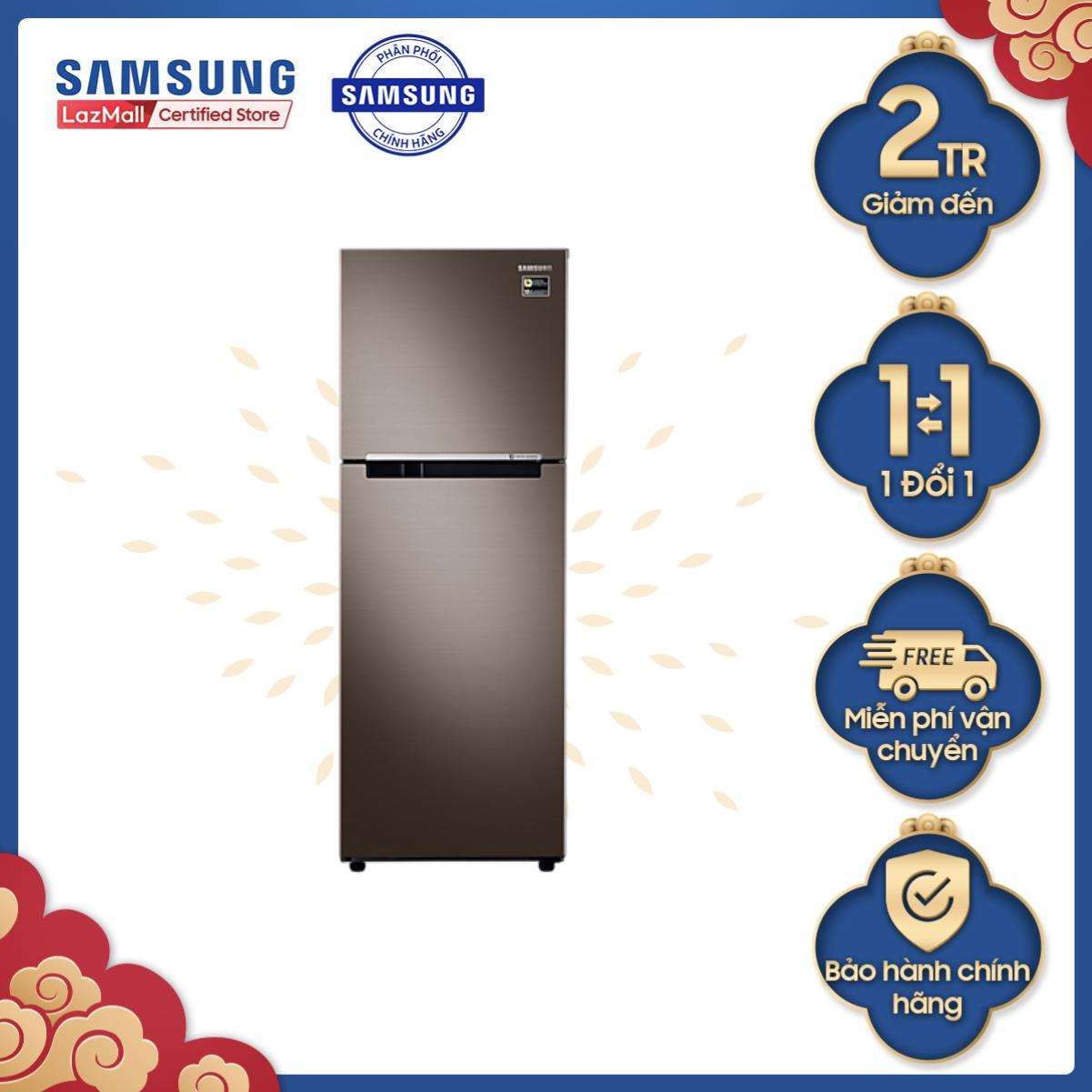 ( Voucher 250K) Tủ lạnh Samsung hai cửa Digital Inverter 243L (RT22M4040DX)
