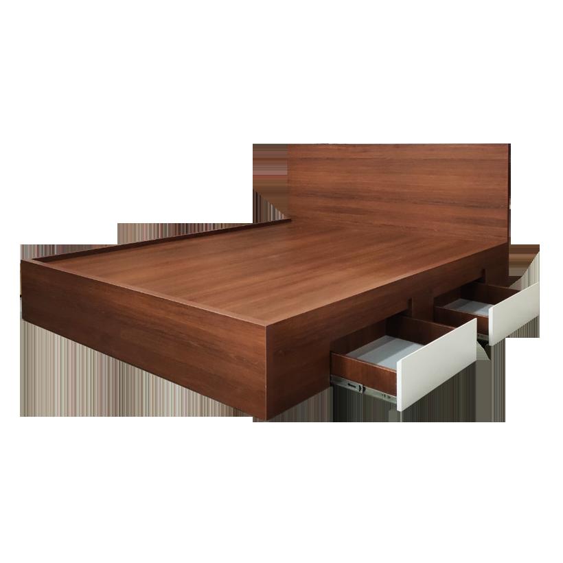 Giường ngủ gỗ công nghiệp Ohaha-079
