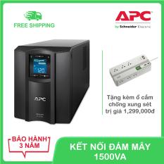 Bộ lưu điện thông minh APC by Schneider Electric Smart-UPS C 1500VA LCD 230V SMC1500IC