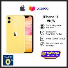Điện thoại Apple iPhone 11 – Hàng Chính Hãng VN/A – Mới 100% – (Phiên bản mới) không có củ sạc và tại nghe