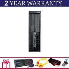 Máy Trạm Mini HP WORKSTATION Z220 SFF Core I7 3770, Ram ECC 8GB, SSD 240GB, HDD 2TB + Bộ Quà Tặng