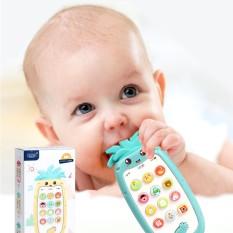 Đồ chơi trẻ em, máy / điện thoại phát nhạc, đồ chơi phát nhạc, phát ra tiếng kêu, hình quả dứa siêu dễ thương, an toàn với trẻ nhỏ, chất liệu ABS cao cấp, phát triển tư duy, các giác quan cho trẻ, Huy Tuấn