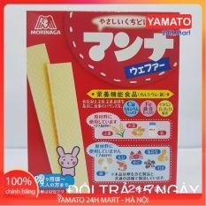 Bánh Ăn Dặm Xốp Sữa Morinaga Nhật Bản Cho Bé Ăn Dặm Từ 7 Tháng Tuổi, Bánh Ăn Dặm Dễ Tan, Bánh Ăn Dặm Bổ Sung Canxi và Các Vitamin Cho Bé, Bánh Ăn Dặm Nhật Bản Cho Bé