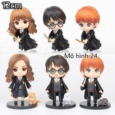 [BỘ 6 EM] Mô hình Chibi HARRY POTTER phù thủy ginny weasley hermione granger